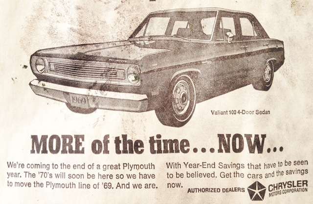 car advertisement